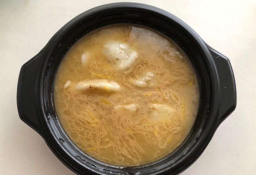 塚田の家飲みセット 調理後の炊餃子