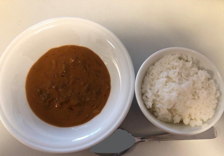 ビーフストロガノフとCO-OP岩手特別栽培米ひとめぼれごはん 1人前
