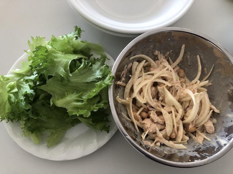 ドライパック大豆のサラダ