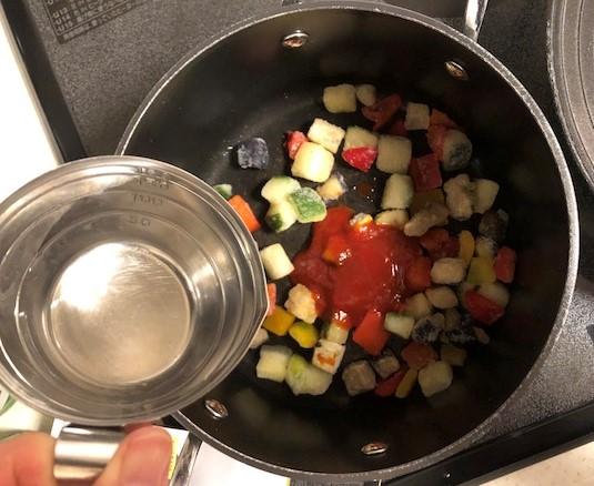 kit oisix cooking ratatouille
