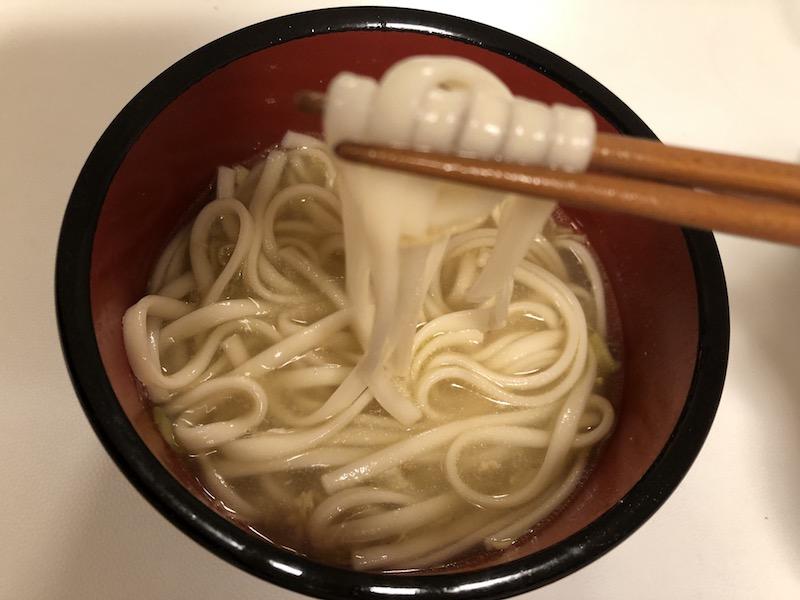 生姜スープをうどんつゆに