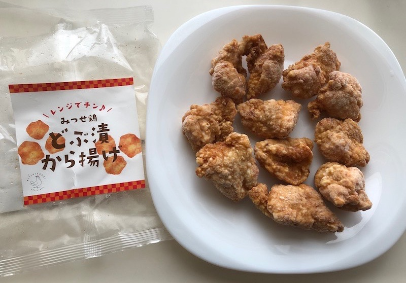 九州グルメどぶ漬から揚げ1袋にとりトロが11個入っていました